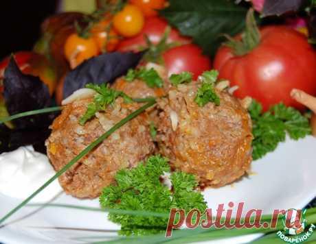 Ленивые голубцы в мультиварке – кулинарный рецепт