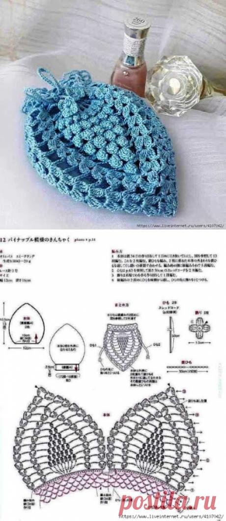 Вязание крючком золота: сумки