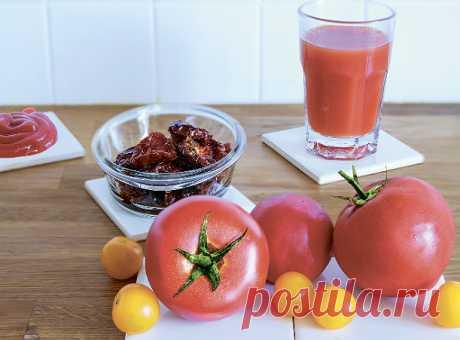 El señor el Tomate: la profiláctica del cáncer y antioksidanty en un tomate | Mí Amable aparecen ya, rojo, krepenkie. Los tomates. Es el momento más oportuno de añadirlos en las ensaladas, las sopas, las salsas y el ragú. ¡Escojan solamente las variantes útiles! Los TOMATES EN CONSERVA En ellos de las calorías pequeñas, pero basta el tejido celular. Prestaréis la atención: junto con la piel los tomates pierden la mayor parte de las sustancias útiles – hasta 71 % likopinov y 50 % de la carotina beta. La receta de los tomates en conserva. La PASTA DE TOMATE Si no existe al alcance de la mano con...