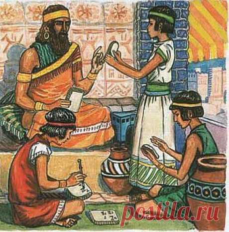 Cosmetology of ancient shumer.