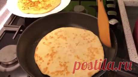 Очень вкусные #хачапури на сковороде!)