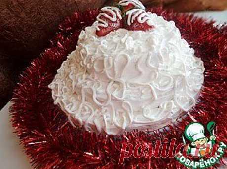 """Торт """"Клубника под снегом"""" - кулинарный рецепт"""