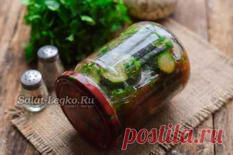 Огурцы в томатном соке на зиму, обалденный рецепт