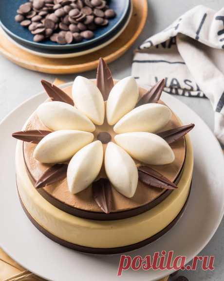 Банановый торт с карамелью «Баноффи»