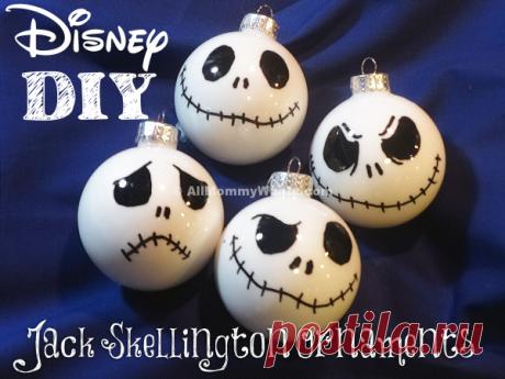 Скелетоны на ёлке (Diy)