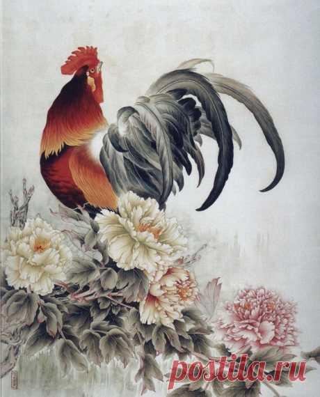 картины петухи китайской живописи: 22 тыс изображений найдено в Яндекс.Картинках