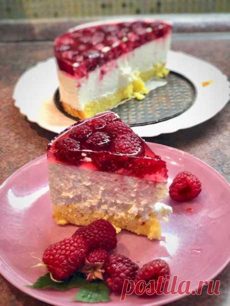 Мой особенный. Творожно-муссовый торт с малиной — выглядит эффектно и просто тает во рту - Ваши любимые рецепты - медиаплатформа МирТесен