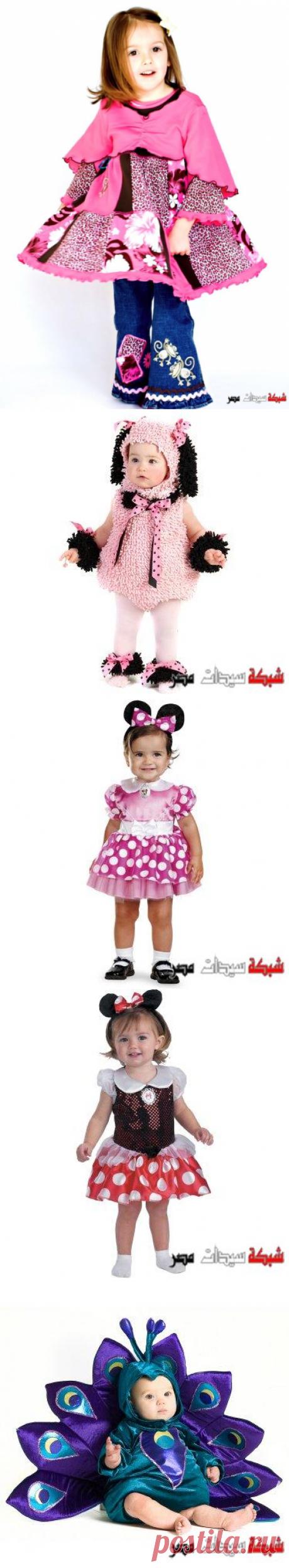 ملابس اطفال 2020 ,ازياء تنكريه لشخصيات ديزنى للبنوتات