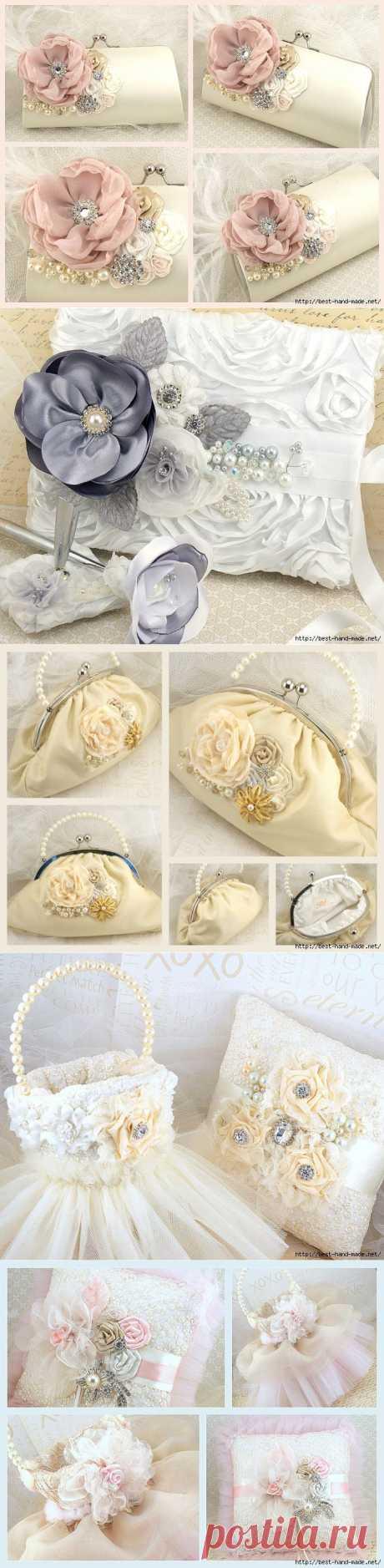 Роскошные цветочные украшения и аксессуары от Maricel Tewari, Канада.