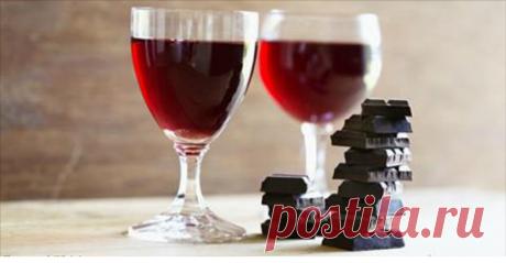 Вино и шоколад решают проблему, которая касается 100% людей!