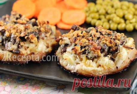 Мясо с черносливом, запеченное в духовке Сочная отбивная под аппетитной корочкой - оригинально, вкусно, несложно. Мясо с черносливом выглядит очень изысканно и празднично, к тому же с шубкой можно экспериментировать - добавить сыр...