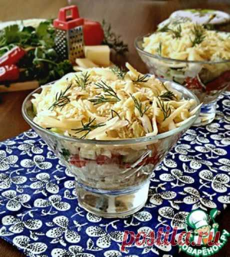 Салат из пекинской капусты с курицей - кулинарный рецепт