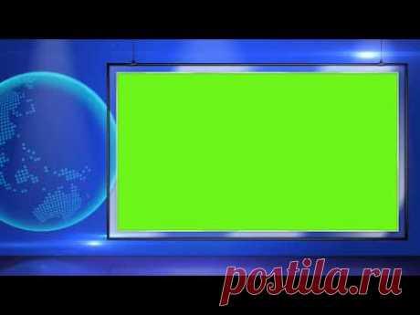 BREAKING NEWS GREEN SCREEN CHROMA KEY