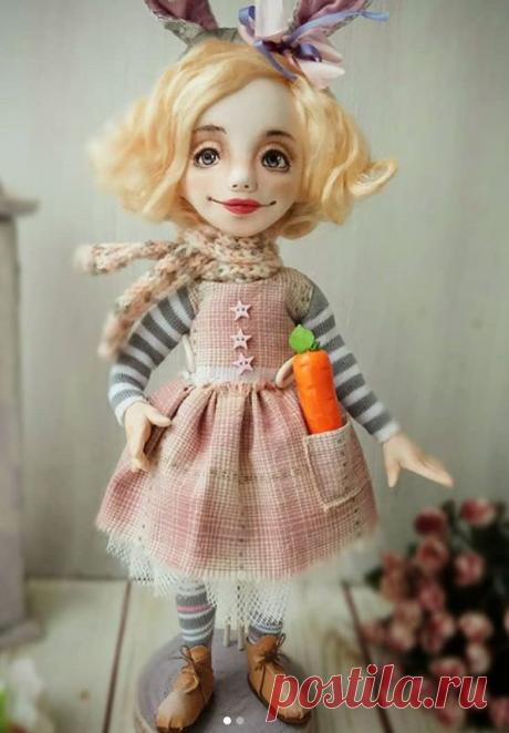 Авторские куклы Анны Фадеевой