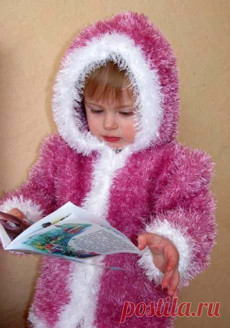 вязание пальто из травки для детей | ДЕТКИ | Вязание, Детское вязание и Пальто