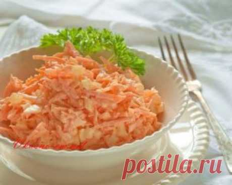 Carrots egg salad without mayonnaise the recipe I Want to offer you the interesting and easy recipe of vegetable salad from fresh carrots with egg. In the winter and in the spring we so lack vitamins therefore stock up till summer. Vegetable carrots egg salad very tasty and useful.