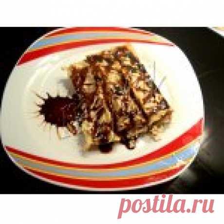 Сладкие каннеллони на десерт Кулинарный рецепт