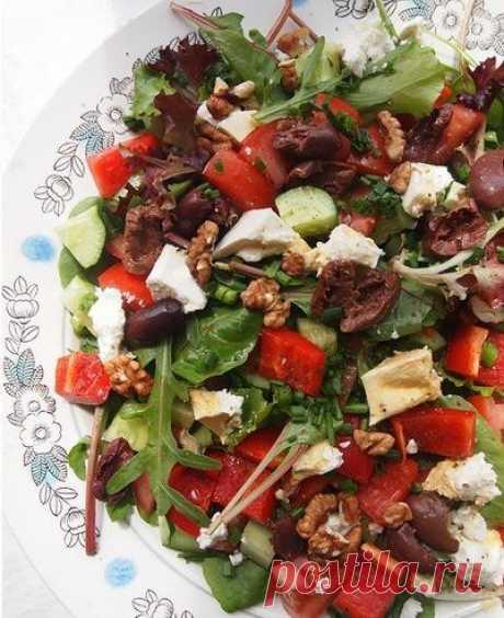 Греческий салат.