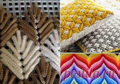 Барджелло — вышивка на сетке. Узор «Слезы апачи»: вязание крючком, имитирующее вышивку… У вышивальщиц все большую популярность набирает вышивка в технике барджелло (флорентийская). Ну, а мы, вязальщицы? Мы тоже не отстанем. Не хотите ли попробовать вязание крючком, имитирующее вышивку ба…