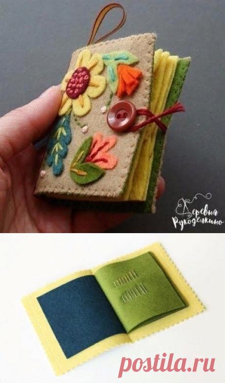 Потрясающая игольница-книжка — Сделай сам, идеи для творчества - DIY Ideas