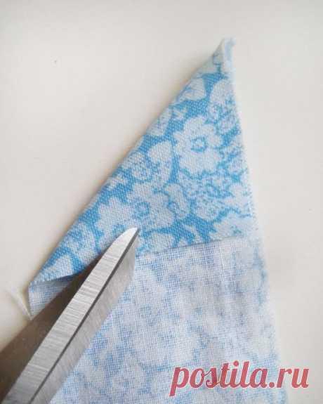 Способ сшивания лоскутков