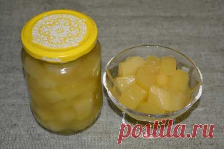 Как превратить обычные кабачки в ананасы и позабавить гостей необычным десертом