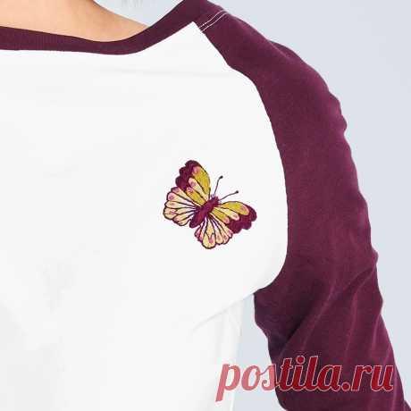 Простая вышивка: три базовых стежка — Мастер-классы на BurdaStyle.ru