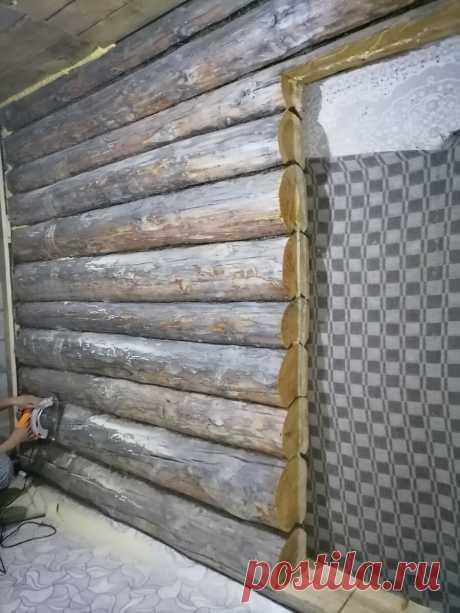 Зашиваю деревянную стену гипсокартоном. Показываю, что у меня из этого вышло | Мастерская BF | Яндекс Дзен
