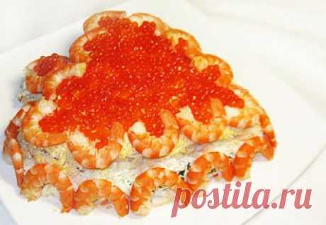 """Салат """"Святой Валентин"""" » Рецепты с фотографиями, самые вкусные домашние рецепты!"""