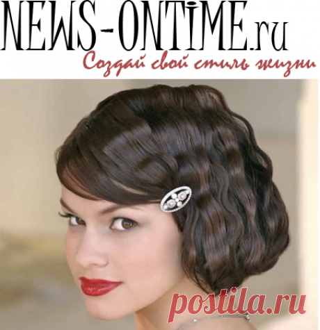 New Year's hairdresses for New year 2017 for short, long and average hair - an idea photo