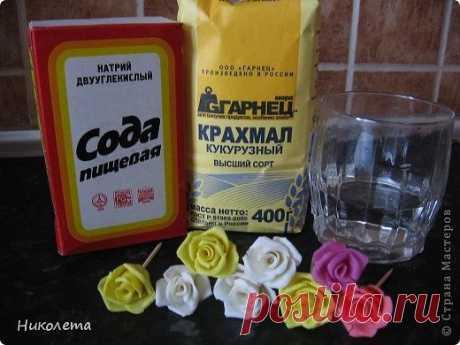 Простой рецепт холодного фарфора
