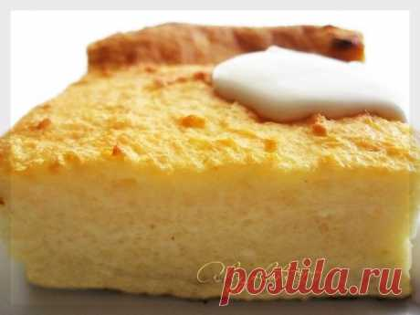 Cottage cheese casserole (as in a garden) - Simple recipes of Овкусе.ру