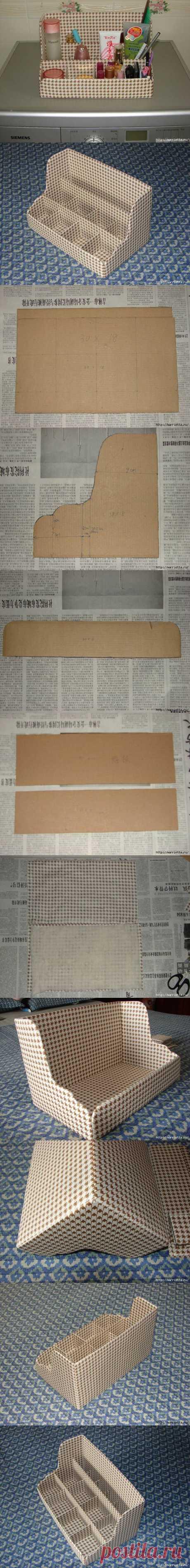 DIY Cardboard Shelves Organizer DIY Projects | UsefulDIY.com