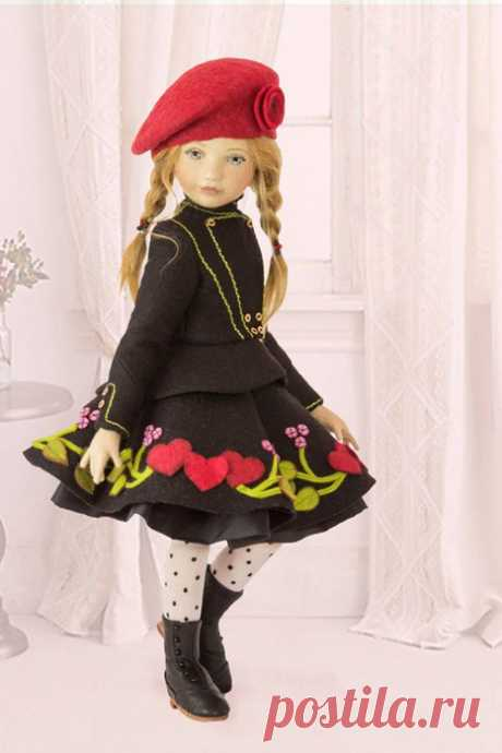 Милые и очаровательные красавицы из фетра! Куклы от Maggie Iacono