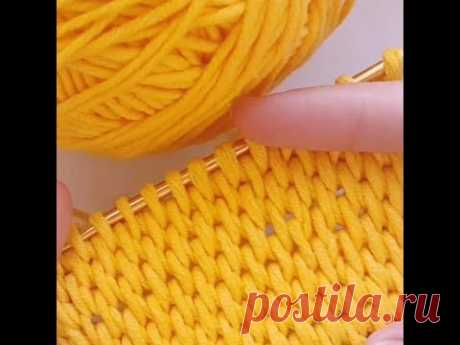 Tunisian Crochet Basket Weave Stitch