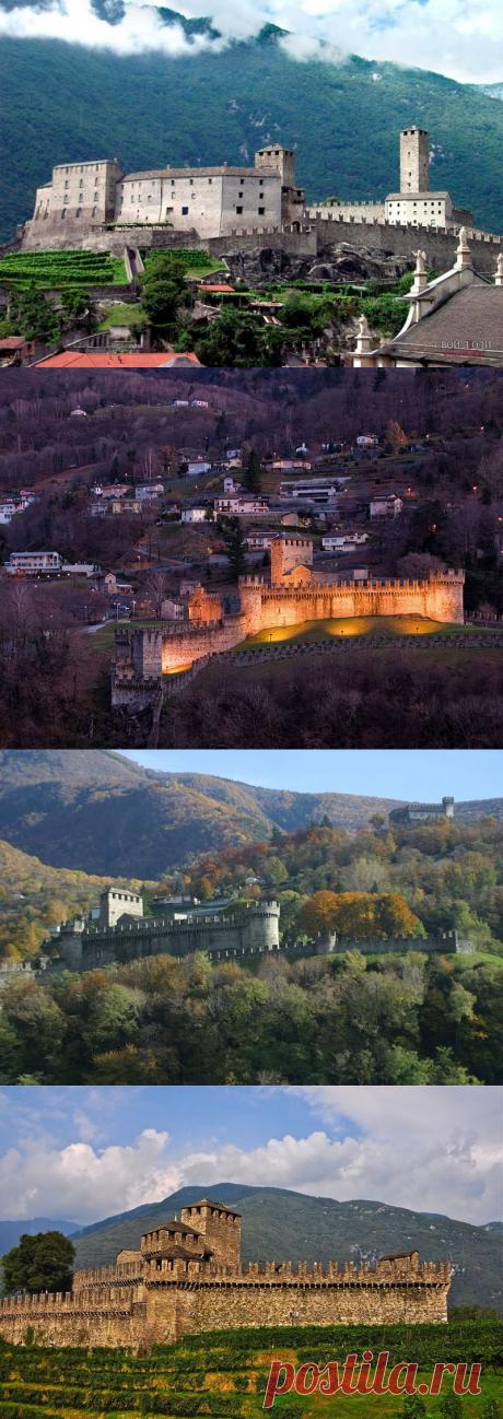 Замки Швейцарии:Монтебелло(Castello di Montebello)