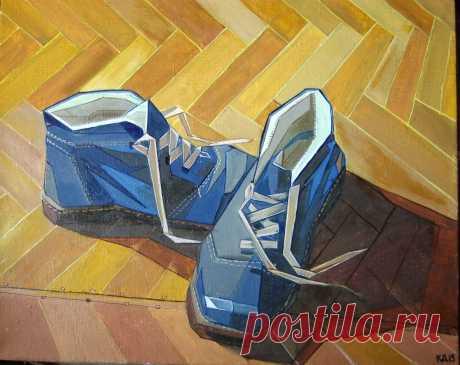 Мои синие ботинки