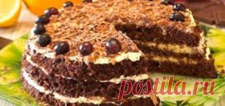 Быстрый торт за 15 минут Этот быстрый торт готовится за 15 минут. Он получается нежным, воздушным и необыкновенно вкусным.