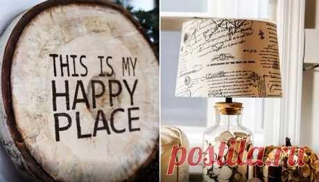 😍 10 предметов декора из спилов дерева: обзор новинок