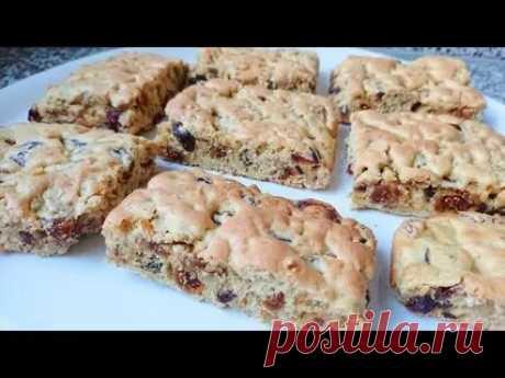 Кулинария>Польское печенье «Мазурка» с орехами и сухофруктами