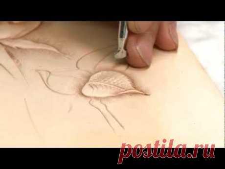 Carving a Leathercraft Leaf - Part 5