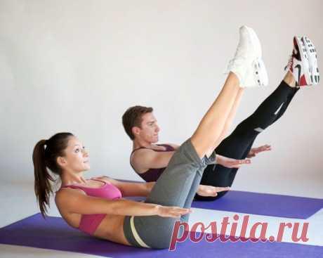 Золотое упражнение пилатеса. «Сотня» для абсолютно всех мышц брюшной полости!