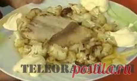 Морской язык с цветной капустой (рецепты: Званый ужин) - рецепты с фото