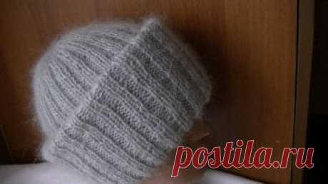 Вязание объемной шапки из мохера с двойным отворотом.Knitting hats mohair volume with double lapel спицы купить https://ali.pub/xo9ji крючки купить https://ali.pub/y04m5 купить нитки https://epnclick.ru/redirect/cpa/o/ofp...