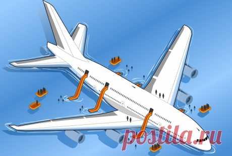 Пилот поделился советами, как вести себя вслучае авиакатастрофы, иэти мелочи могут спасти жизнь