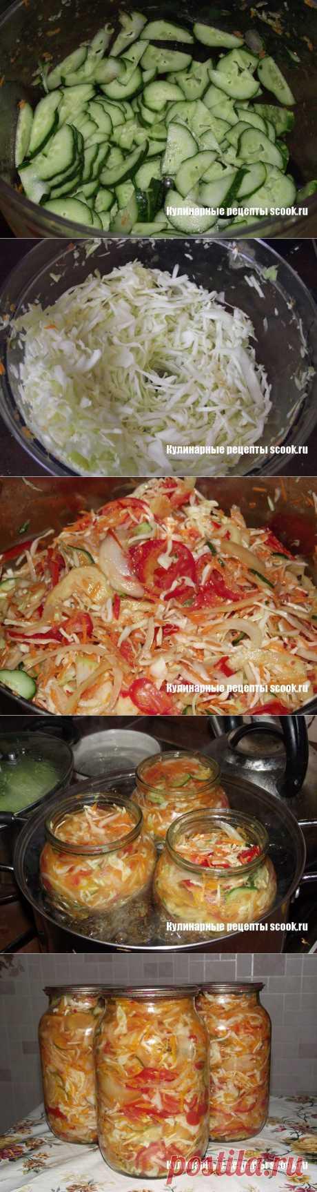 Салат «Осенний» на зиму | Рецепты вкусных блюд