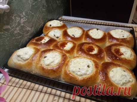 Теперь только так готовлю эти вкуснейшие булочки с творогом и вареньем | Оксана Филоненко  о ВКУСНОМ | Яндекс Дзен