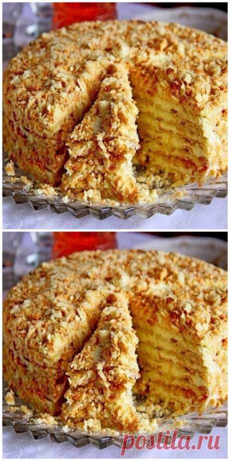Торт «Светлана» без выпечки - Все своими руками