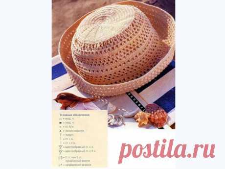 Вяжем для лета. Шапочки, шляпки, козырьки со схемами вязания. | Давай повяжем | Яндекс Дзен