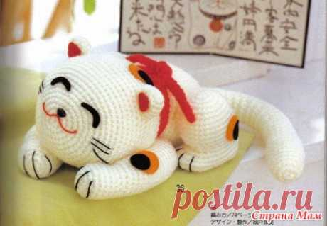 The Japanese cat - Club of needlework - the Country of Mothers